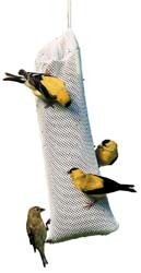 WBU Nyjer Sock with Goldfinches