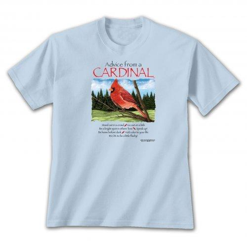 Advice from a Cardinal T-shirt
