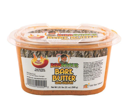 Hot Pepper Bark Butter Tub